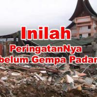 ~Terungkap diBalik Kisah Sebelum Gempa Dahsyat Padang Terjadi~