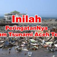 ~Kisah Nyata DiBalik Tanda Tanda Sebelum Terjadi Tsunami Aceh~