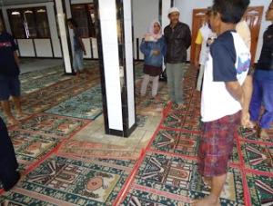 Bergesernya Arah Kiblat Selama Satu Jam Di Masjid Al Falah