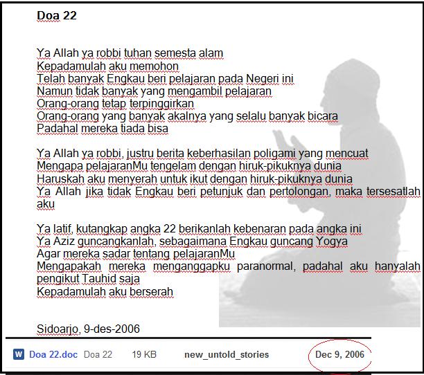 612 x 542 png 47kB, Perhatikan bahwa angka 22 dengan doa 22 akan ...