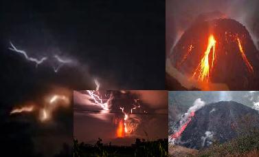 Terungkap Peristiwa Ajaib Sebelum Gunung Kelud Meletus Dahsyat Malam Hari