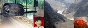 makam_bung_karno_dan_gunung_kelud