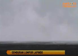 Semburan Lumpur Lapindo Menguat setelah Kelud Meletus
