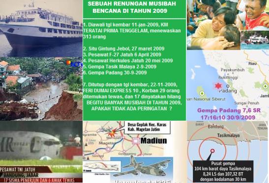 bencana_tahun_2009