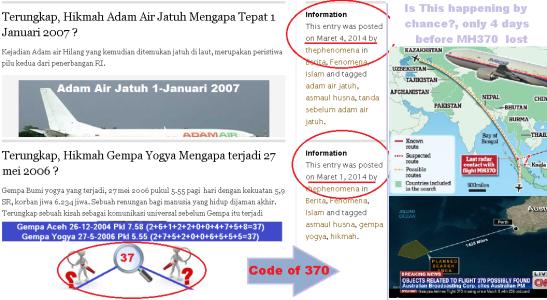 tulisan_sebelum_MH370_hilang