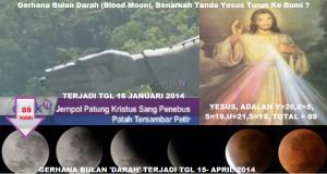 Gerhana Bulan Darah_Benarkah Tanda Yesus Turun Ke Bumi_