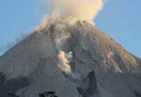Status Gunung Merapi Naik Jadi Siaga_21_10_2010