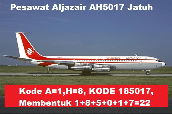 Pesawat Aljazair AH5017 Jatuh