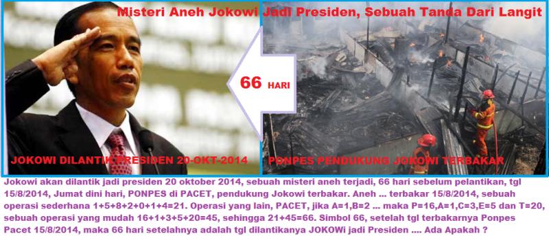 Misteri Aneh Jokowi Jadi Presiden, Sebuah Tanda Dari Langit