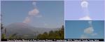 Cincin Raksasa Muncul di Atas Gunung Slamet