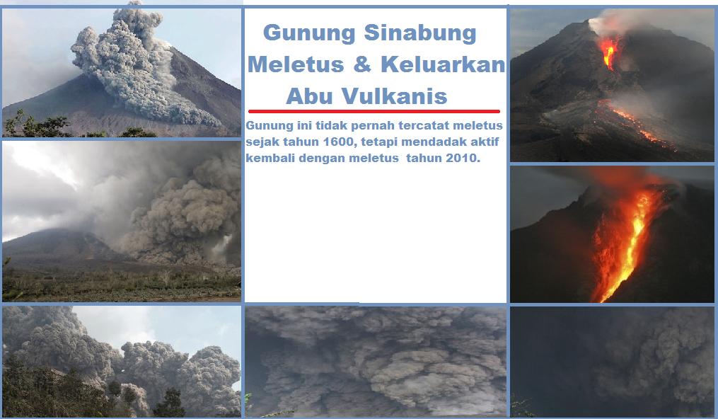 Gunung Sinabung Meletus Keluarkan Abu Vulaknik Mengapa Png
