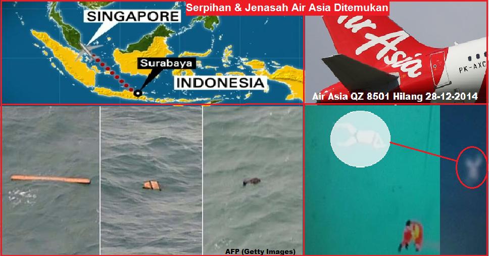 Foto Kecelakaan Pesawat Adam Air Pesawat Adam Air Jatuh
