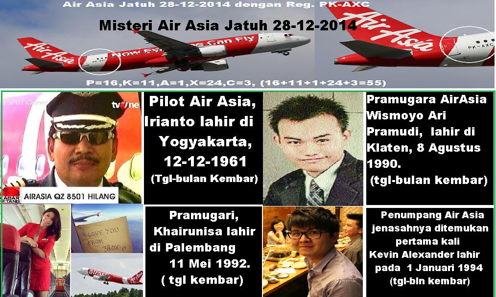 Pesawat Air Asia Indonesia Pesawat Air Asia Jatuh Dengan