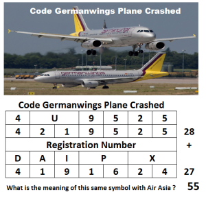 Code Germanwings Plane Crashed