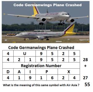 Code Germanwings Plane Crashed