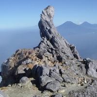 ~[Misteri Ilahi] Foto Penampakan Aneh Saat Pendaki Jatuh Ke Kawah Gunung Merapi~